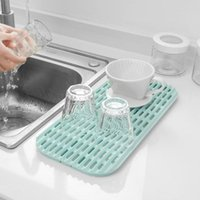 Kitchen Storage & Organization Multifunction Shelving Rack Drain Board Plastic Kitchenware Drainer Strainer Tray Tools For Bowl Cup
