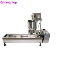 QiHANG_TOP TRAITEMENT DES FOOD TRAITEMENT Automatic Donut Maker Machine 3 Moules Donut fabricants avec des beignets électriques de minuterie fabrication de machines