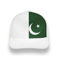 Pakistan Maschio Giovani FAI DA TE GRATUITAMENTE CUSTOM PAK Cappello nazione Bandiera ISLAM ARABICA ISLAMIC PK PAKISTANI Stampa araba Photo Berretto da baseball