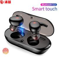 Y30 TWS Wireless Blutooth 5.0 Fone de Ouvido Ruído Cancelando Headset HiFi 3D Estéreo Som Som Música Earbuds In-Ear para Android Ios