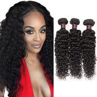 2021 Extensions Brazilian Kinky Straight Body Loose Deep Water Wave Curly Human Hair Weave Peruvian Indian Malaysian for Women Girls All Age
