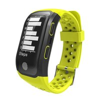 S908 Höhe Meter GPS Smart Armband Herzfrequenzmonitor Fitness Tracker Smart Watch IP68 Wasserdichte Armbanduhr für iPhone Android Uhr