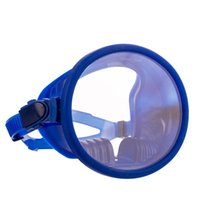 Pool & Accessories Diving Masks Snorkelling Mask Anti Leak 180° Full Face Snorkel Panoramic View Classic Round Dive Equipment