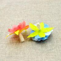 10 pcs barato flores artificiais para decoração de casamento estames de seda para bordado diy artesanal noiva de noiva grinalda qylcxa