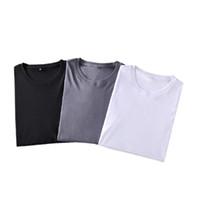 Mode M-5XL Sommer Baumwolle Herren T Shirts Herren Plus T-Shirts Sexy Atmungsaktive männliche T-Shirts Männer Koreaner Stil Grafik Tops 2021 Mann T-Shirt Drop Ship