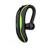F600 BT Earphones مريح 180 درجة واحدة سماعة الأذن Handfree مع مايكروفون للرياضة سماعات لاسلكية