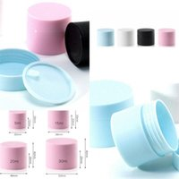 Storage Boxes Double Deck Cream Separate Bottle Frosting Plastic Jars Empty Cosmetic Mask Travel Containers Cylindrical