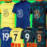 Chelsea Maillot de foot CFC PULISIC ZIYECH HAVERTZ KANTE WERNER ABRAHAM CHILWELL MOUNT JORGINHO 2022 2021 Maillots de football GIROUD 22 21 kit hommes + enfants enfant de la