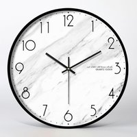 Wall Clocks Nordic Clock Modern Design Watches Metal Silent Home Decor Creative Living Room Bedroom Decoration Gift