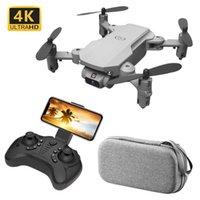 Kakbeir Mini RC Faltbare Drohne 4k 1080p 480p HD-Kamera FPV Wifi Selfie Hubschrauber Professionelle Drohnen RC Quadcopter Spielzeug für Jungen 210607
