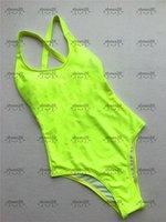 Simples clássico swimwear hipster acolchoado push up feminino swimsuits de uma peça de banho ao ar livre praia de natação atadura férias desgaste