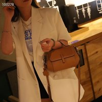 Genuine Leather Women's Bag Crocodile Pattern Portable Shoulder Messenger Bag European and American Retro Cowhide Small Square Bag