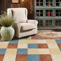 Pegatinas de azulejos de piso de Funlife Impermeable para el baño Pelar y palo adhesivo de mármol vinilo de vinilo laminado decoración de sala de estar 210310