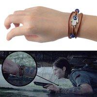 The Last of Us 2 Part II Ellie Dina Devil's Eye Blue Beads Bracelet Game Accessories