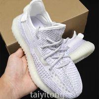최고 품질 남성 스포츠 편안한 운동화 Kanye West Women Gid Glow Clay Beluga 2.0 Size36-46