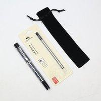Ballpoint Pen Triangle Penholde Business Pen 0.5 Черные / синие чернила Камуфляж Камуфляж Высококачественный металлический шар студент подарочный офис