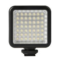 Flash Heads 49 LEDs 3W 6000K Dimmable Fill Light Studio Pography Video & Po Lights