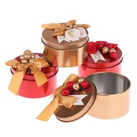 Gift Wrap Round Candy Chocolate Box Wedding Party Favors And Gifts Boxes Bags Packaging Birthday Decor Supplies