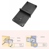 Professional Hand Tool Sets Hinge Hole Drilling Guide Locator Opener Template Door Cabinets Woodworking Dropship