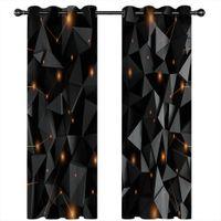 2021 European Luxury Blackout Druckvorhang Wohnzimmer Schlafzimmer 3D Vorhänge Wandfenster Kreativität Fotovorhänge