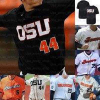2021 Oregon State Beavers OSU Koleji Beyzbol Formaları Madrigal 35 Adley Rutschman 23 Jacoby Ellsbury Herhangi bir sayı adı