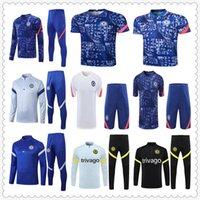 four 20 21 22 WERNER HAVERTZ CHILWELL ZIYECH Camisas de futebol 2021 2022 PULISIC home blue Football Shirt KANTE MOUNT 4th Men Conjunto infantil Tops com meias