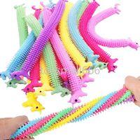 24h DHL Unicorn Stretchy String String Fidget Brinquedos, Terapia Toys Sensory Ansiedade Esprema Macaco Macarrão Para Crianças e Adultos Com Adicionar ADHD 2021