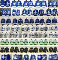 2021 Reverse Retro Toronto Maple Leafs 16 Mitchell Marner 17 Wendel Clark 93 Doug Gilmour 88 William Nylander 97 Joe Thornton Hockey Jerseys