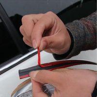 Strip de coiffe de voiture de voiture de 15 m chrome Cache auto-adhésif de la bande chromé chrome trim en bande 6mm Installation facile avec de haute qualité