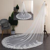 Свадебные завесы персонализированные вышитые свадебные вуаль, 2 уровня элегантная свадьба, собор вуаль, вуаль, часовня блестка, Blushe