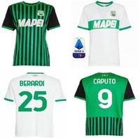 2021 США Sassuolo Calcio Футбол Футбол Джерси Главная выездные чиричами Джерич для Locatelli Berardi Boga Caputo Defrel 20 21 Футбольная рубашка S-2XL