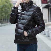 Giacca Designer Designer Winter Down Parka Top Quality Black Shiny con lettere giù Giacche con cappuccio per donna Outwear Cappotti Addensare Cappotto
