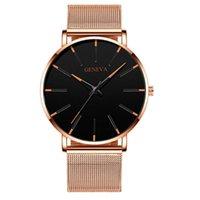 여성 시계 쿼츠 시계 40mm 패션 현대 손목 시계 방수 손목 시계 몬트르 드 럭스 선물 color26