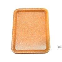 Tablett Kunststoff Tabak 18x12 cm S Größe Kleine Hand Zinn Reine Farbe Fall Gewürz Cartoon Platte Rauchen 3 Farben FWD4869