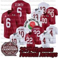 2021 Benutzerdefinierte Alabama Crimson Tide College Football Jersey 4 Brian Robinson 10 Mac Jonesjr. 22 Najee Harris AndeName