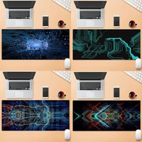 Mouse Pads & Wrist Rests Circuits Wallpaper Comfort Mat Gaming Mousepad Large Laptop XL Non-slip Rubber Office Computer Pad