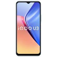 """Original vivo IQOO U3 5G Mobiltelefon 6GB 8 GB RAM 128 GB ROM MTK 800U Android 6.58 """"Vollbild 48.0mp 5000mAh Wake Face ID Smart Handy"""