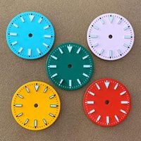 Repair Tools & Kits Watch Dial 29mm Is Suitable For Japanese NH35 NH36, 2836, 8215, 2813 Automatic Movement Green Luminous