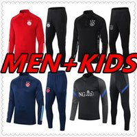 algeria Lyonnais lyon mens tracksuit 2020 2021 algerie kids soccer tracksuit training survetement foot jersey football jerseys