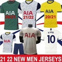 Kane 21 22 22 تايلاند Son Bergwijn Ndombele Soccer Jerseys 20 Tottenham Dele Men Kids Football Shirt Lo Celso Bale Lamela 4th