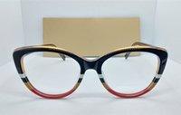 Nouvelles femmes Sexy Cateye Plank Verres Cadre 52-19-145 importé Fullrim + Plaid Heak pour lunettes sur ordonnance