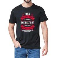 T-shirt dos homens pai gráfico pai pai da filha filho esposa para o presente pai do paizinho engraçado novidade t-shirt humor top
