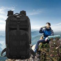 Backpack Outdoor Military Rucksacks Large Capacity Oxford Waterproof Tactical Sports Camping Hiking Trekking Climbing Bags Black