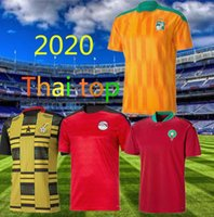 2020 2021 Egipto M.Salah 10 Salah Costa de Marfil Ghana Marruecos Jerseys 20 21 Jersey Jersey Camisetas de fútbol