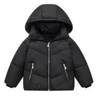 Girls Boys Down Coat Winter Kids Coats Children Outwear Childrens Clothes Jackets Hooded Loose Child Jacket Clothing Warm B8597