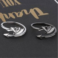 Men Women Retro Punk Rings Flower Of Evil Matching Ring King Stainless Steel Band couple Lovers Wedding Jewelry