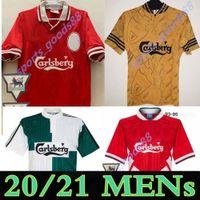 Retro Berger Barnes McManaman Redknapp 1994 1995 1997 1997 Futebol Jerseys 93/97/98 Away 3ª Camisa de Futebol Retro
