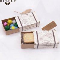 Regalo envoltura 50 unids maleta cajas de caramelo viajar clásico boda cumpleaños aniversario favor tema tema elegante estilo caja