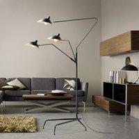 거실 바에 대 한 다락방 스탠드 플로어 램프 바 스튜디오 삼각대 테이블 책상 램프 블랙 화이트 컬러 서