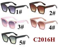 Neueste Frauen Marke Designer Vintage Sunglasse Klassische Outdoor Sport Sonnenbrille Eyewear UV400 Mode Strand Schwarz Rosa Eyewear 10 stücke Fastship